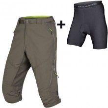 Endura HUMMVEE II Bike  Shorts 3/4 khaki 1
