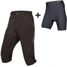 Endura HUMMVEE II Bike Shorts 3/4 schwarz 1