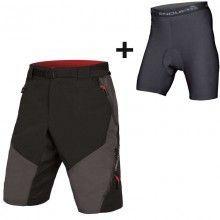 Endura HUMMVEE II bike Shorts grau schwarz 1