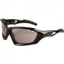 Endura Radbrille Mullet schwarz-glanz 1