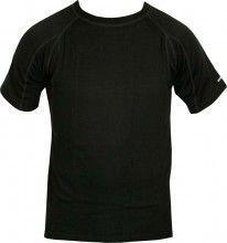 Endura Kurzarm-Unterhemd BAABAA MERINO schwarz