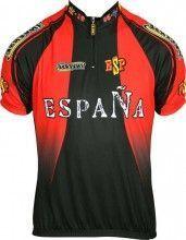 ESPAÑA 2011 Inverse Radsport-Profi-Team - Kurzarmtrikot mit kurzem Reißverschluss
