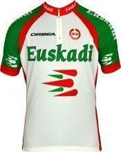 EUSKADI 2013 MOA Radsport-Profi-Team - Kurzarmtrikot mit kurzem Reißverschluss