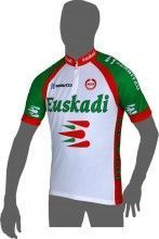 EUSKADI 2014 Kurzarmtrikot (kurzer Reißverschluss) - MOA Radsport-Profi-Team