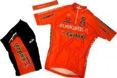 EUSKALTEL 2012 MOA Radsport-Profi-Team - Kinder-Set (Trikot, Hose, Stirnband)