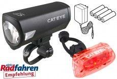 CATEYE Lichtset HL-EL540RCG + TL-AU330G + Ladegerät