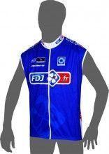 FRANCAISE DES JEUX (FDJ.fr) 2014 Wind-Weste - Radsport-Profi-Team