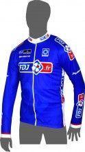 FRANCAISE DES JEUX (FDJ.fr) 2014 Langarmtrikot - Radsport-Profi-Team
