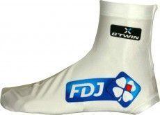 FRANCAISE DES JEUX (FDJ) 2013 Lycra-Zeitfahr-Überschuh - Radsport-Profi-Team