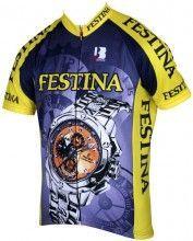 FESTINA 1994 Radsport-Kurzarmtrikot Biemme-Retro-Kollektion