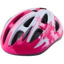 Force LARK Kinder Fahrradhelm pink weiß 1