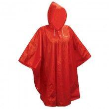 Force PONCHO Regenschutz rot 1