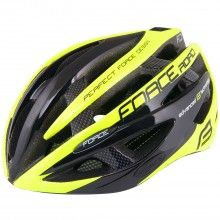Force ROAD Fahrradhelm neon gelb 1