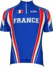 Biemme National Radsport-Kurzarmtrikot Frankreich