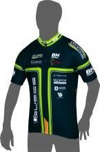 GENESIS CYCLING TEAM 2014 Kurzarmtrikot (kurzer Reißverschluss) - Inverse Radsport-Profi-Team