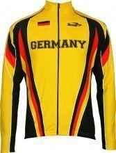 Biemme National Kinder-Radsport-Langarmtrikot Germany