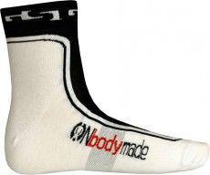 Giessegi Radsport-Socken weiß