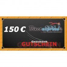 Trikotexpress Geschenkgutschein 150 Euro