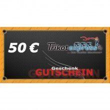 Trikotexpress Geschenkgutschein 50 Euro