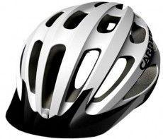 Carrera Fahrradhelm HILLBORNE weiß glänzend
