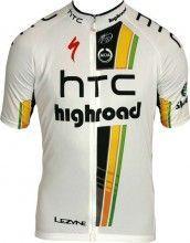 HTC-HIGHROAD 2011 MOA Radsport-Profi-Team - Kurzarmtrikot mit langem Reißverschluss