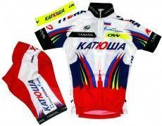 KATJUSCHA 2015 Kinder-Set (Trikot, Hose, Stirnband) - Oneway Radsport-Profi-Team