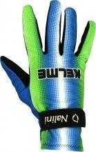 Kelme 2003 striped winter long finger gloves mantotex - Nalini professional cycling team
