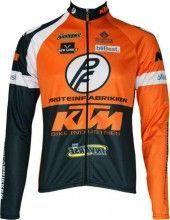 KTM Inverse Radsport-Profi-Team- Langarmtrikot