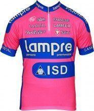 LAMPRE 2012 Nalini Radsport-Profi-Team - Kurzarmtrikot mit kurzem Reißverschluss