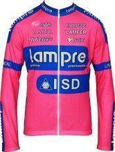 LAMPRE 2012 Nalini Radsport-Profi-Team - Radsport-Langarmtrikot