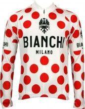 Bianchi Milano LEGGENDA long sleeve jersey - climbers tricot