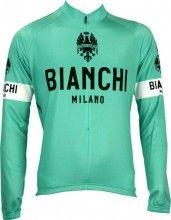 Bianchi Milano Langarmtrikot LEGGENDA celeste 1