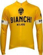 Bianchi Milano LEGGENDA long sleeve jersey - TOUR