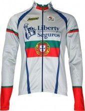 Liberty Seguros Portugisischer Meister Inverse Radsport-Profi-Team - Langarmtrikot