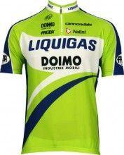 Liquigas 2010 Nalini Radsport-Profi-Team - Kurzarmtrikot mit kurzem Reißverschluss