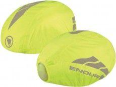 Endura LUMINITE HELMET COVER Helm Regen�berzug mit LED neongelb