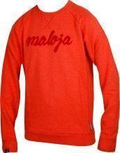 Maloja Streetwear Sweater ALVAROM. amber