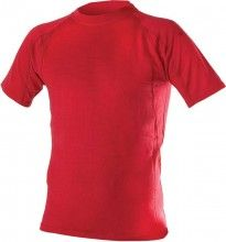 Endura Kurzarm-Unterhemd BAABAA MERINO rot