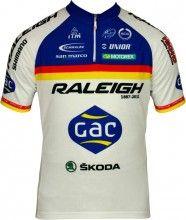 RALEIGH 2012 MOA Radsport-Profi-Team - Kurzarmtrikot mit kurzem Reißverschluss