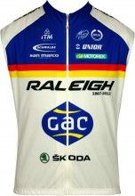 RALEIGH 2012 MOA Radsport-Profi-Team - Wind-Weste