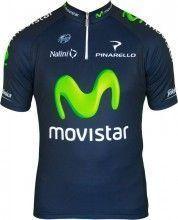 MOVISTAR 2013 Nalini Radsport-Profi-Team - Kurzarmtrikot mit kurzem Reißverschluss