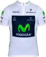 MOVISTAR 2013 Jungprofi Nalini Radsport-Profi-Team - Kurzarmtrikot mit kurzem Reißverschluss