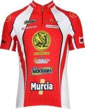 Heraklion Kastro-Murcia Kurzarmtrikot (kurzer Reißverschluss) - Inverse Radsport-Profi-Team
