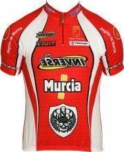MURCIA Inverse Radsport-Profi-Team - Kurzarmtrikot mit kurzem Reißverschluss