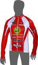 Heraklion Kastro-Murcia Langarmtrikot - Inverse Radsport-Profi-Team