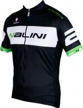 King size Nalini PRO Special BRAGA short sleeve cycling jersey black/green