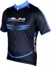 King size Nalini PRO Special MOCO short sleeve cycling jersey black/blue (5210)