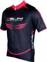 King size Nalini PRO Special MOCO short sleeve cycling jersey black/red (5100)