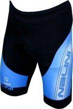 Nalini Radsporthose METREZ Serie 2.1M schwarz/blau 1