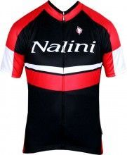 Nalini RAINBO Kurzarmtrikot schwarz/rot 1